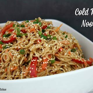 Cold Peanut Noodles.