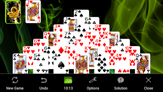 Pyramid Golf Solitaire - náhled