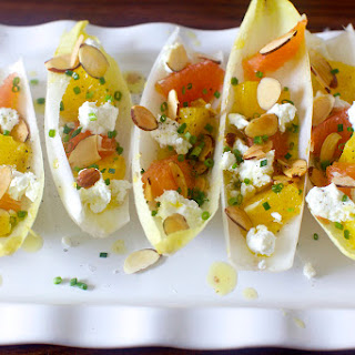 Endives with Oranges and Almonds.