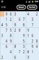 Screenshot of Sudoku Battle