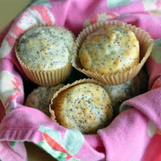 Lemon Poppy Seed Yogurt Muffins.