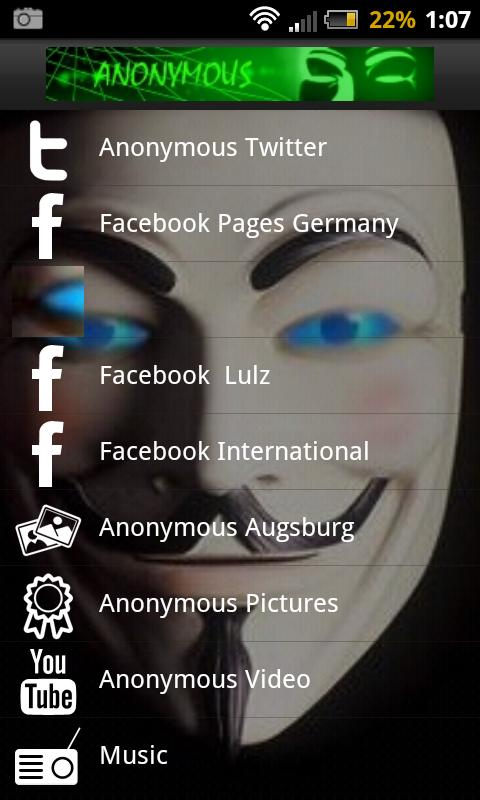 Anonymous News - screenshot