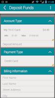 Screenshot of My Tri-C Card