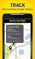 Screenshot of Norton Anti-Theft