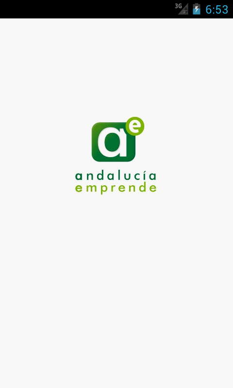 Andalucia Emprende - screenshot