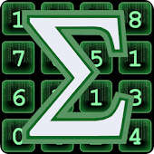 Sum Matrix Numbers Puzzle