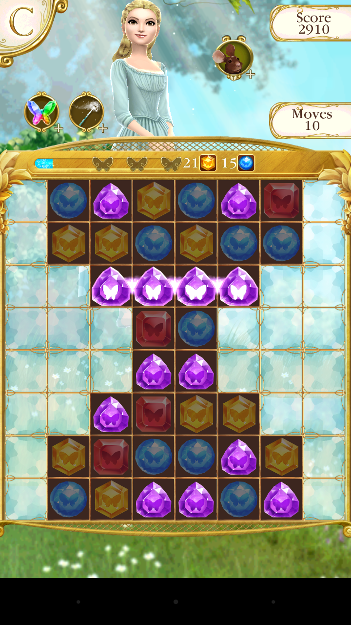 Cinderella Free Fall screenshot #13