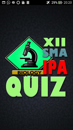 Belajar BiologI Quiz