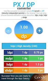 PX DP converter - screenshot thumbnail