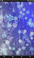 Screenshot of Snowflakes FREE live wallpaper
