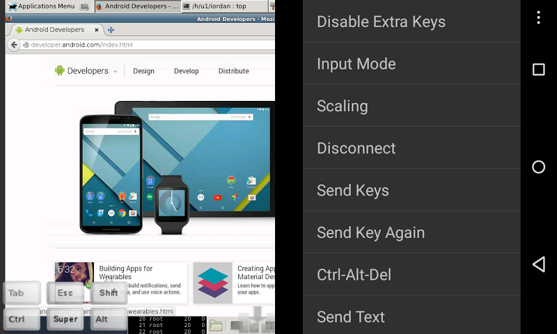 android bVNC Pro: Secure VNC Viewer Screenshot 17