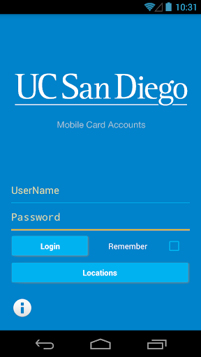 UCSD Card