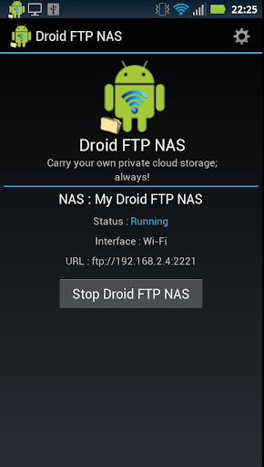 Droid FTP NAS