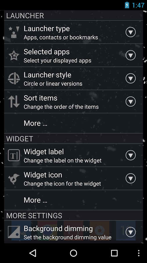 CircleLauncher- screenshot