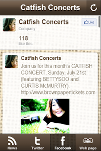 Catfish Concerts - screenshot thumbnail