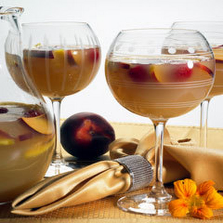 White Tea Island Mango & Peach Sangria Recipe