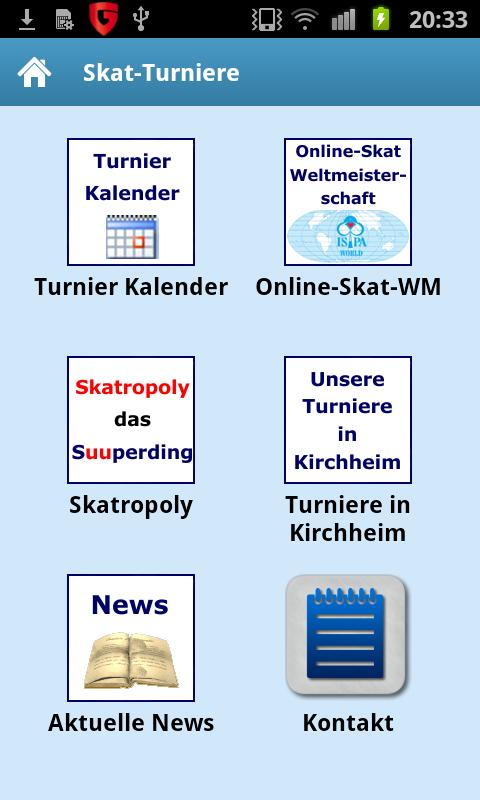 Online Skat-Turniere - screenshot