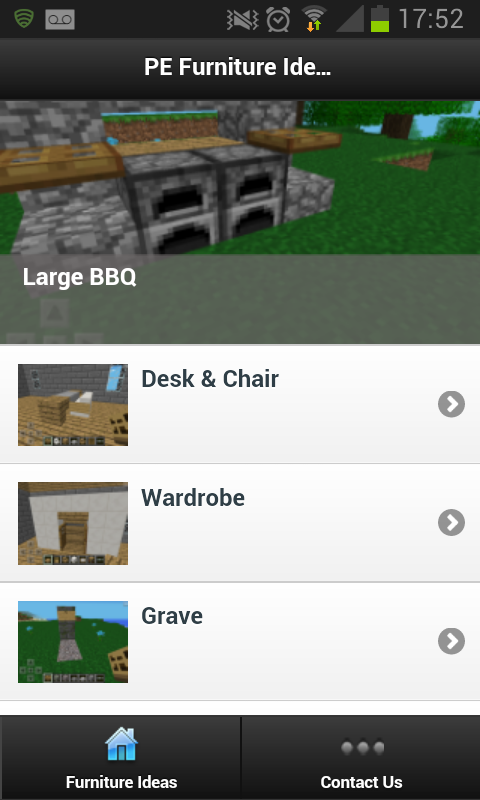 Furniture Ideas - Minecraft PE - screenshot