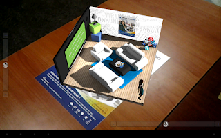 Screenshot of Virdys 3D Augmented Reality