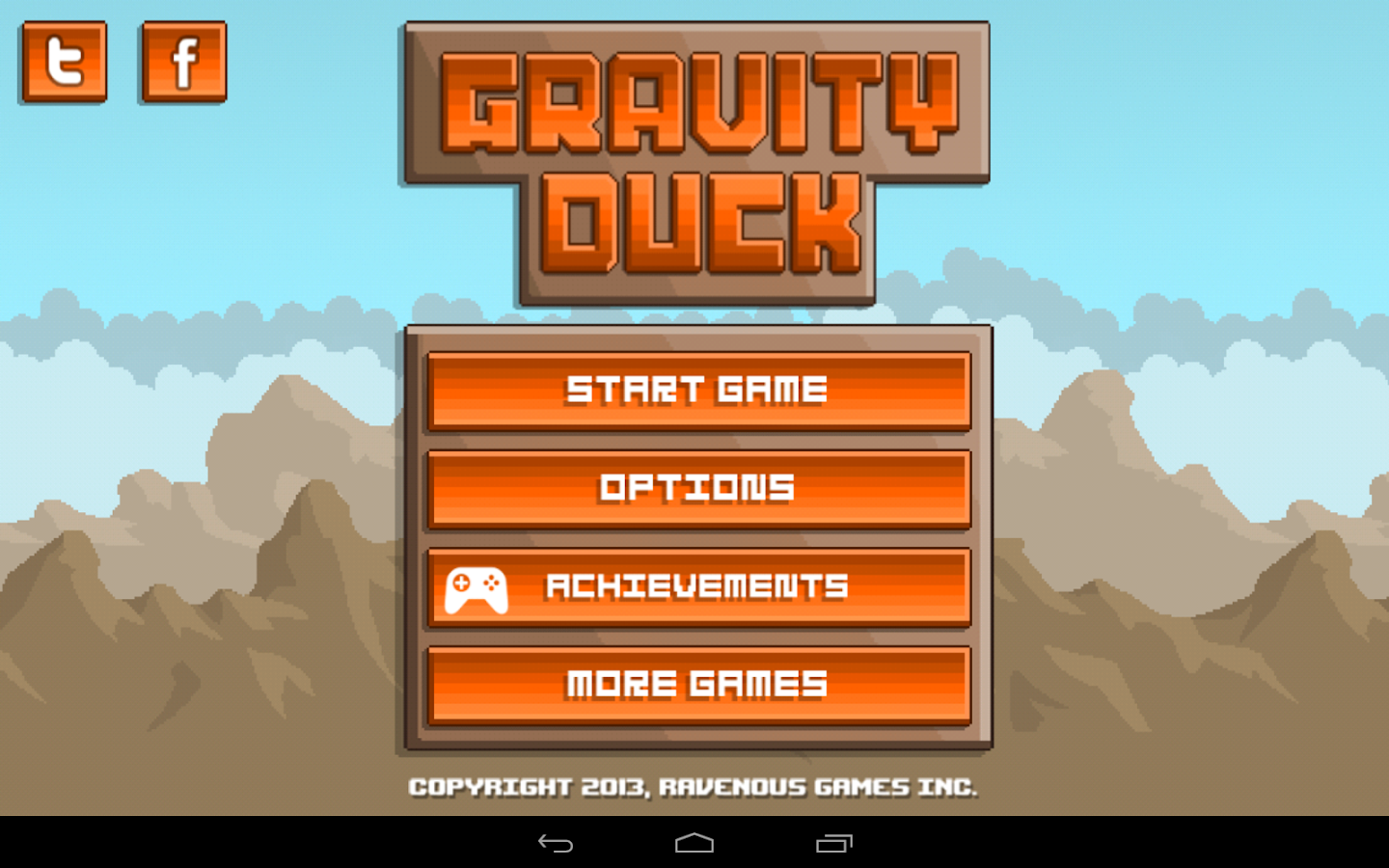 Gravity Duck- screenshot
