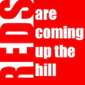 Reds Are Coming Up The Hill