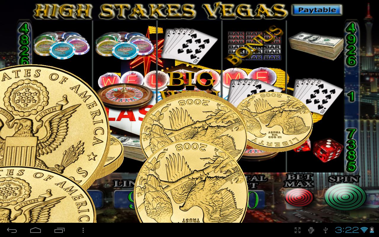 las vegas high stakes slots videos