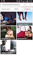 Screenshot of Vodafone My Shopping