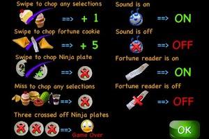 Screenshot of Ninja Kitchen Lite