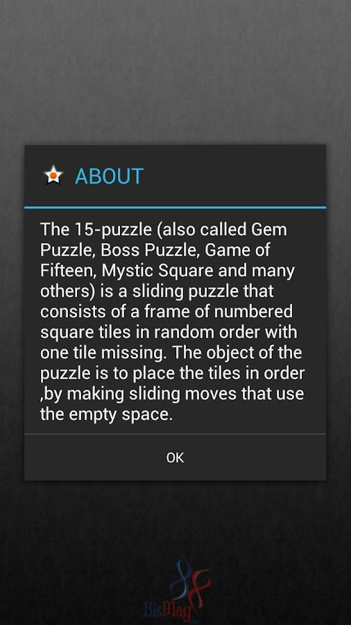 Sliding Puzzle- screenshot