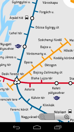 Budapest metró