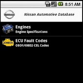 Nissan Automotive Database