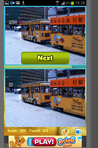 Find Differences Cities Puzzle- screenshot