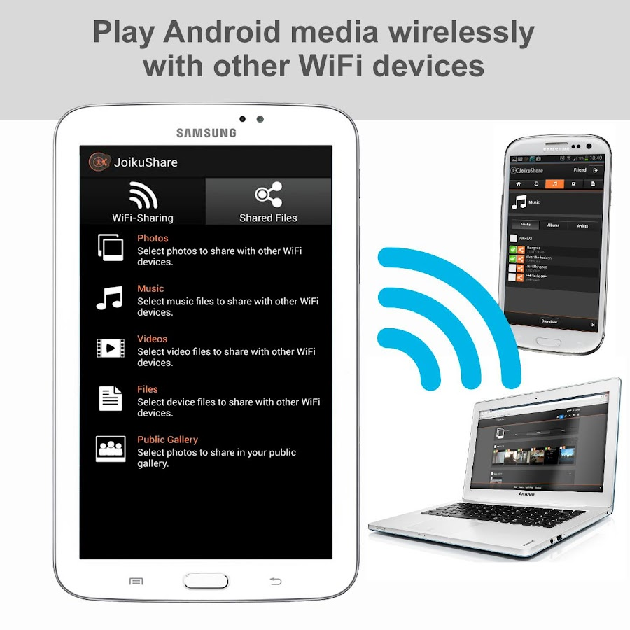 WiFi File Share FREE - screenshot