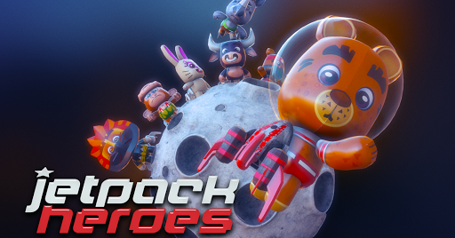 Jetpack Heroes Looney Animals
