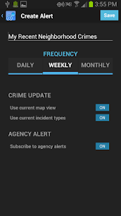 CrimeReports- screenshot thumbnail