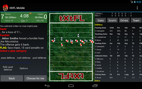 tXtFL: strategic football- screenshot thumbnail