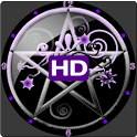 Pentacle Clock Widget HD icon