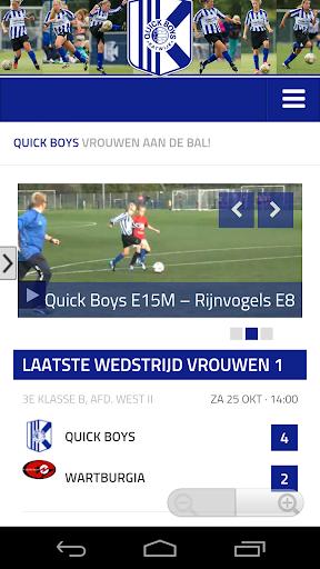 Quick Boys Vrouwenvoetbal