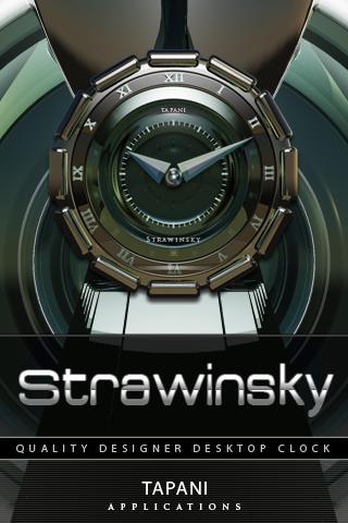 STRAWINSKY鬧鐘小工具