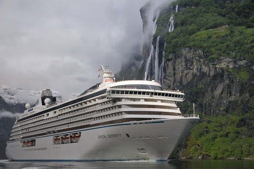 Crystal-Serenity-North-Cape-Geiranger-Norway-1 - Geiranger, Norway.