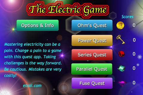 The Electric Game - screenshot