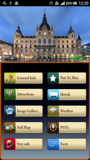 Graz Offline Map Travel Guide