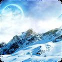 3D Snow Glacier logo