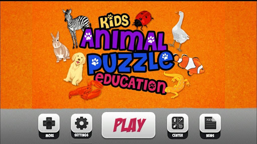 Kids Animal Letter Puzzle