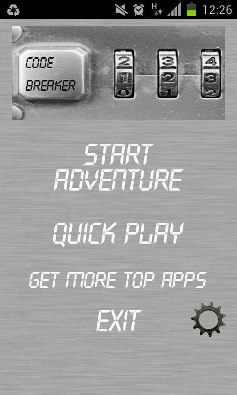 Code Breaker (Bulls & Cows)- screenshot