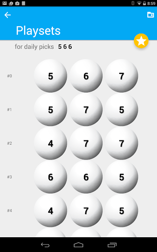 Lucky Daily 3 Lotto Generator
