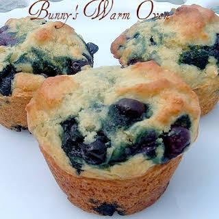 Stonyfield Farms Blueberry Yogurt Muffins.