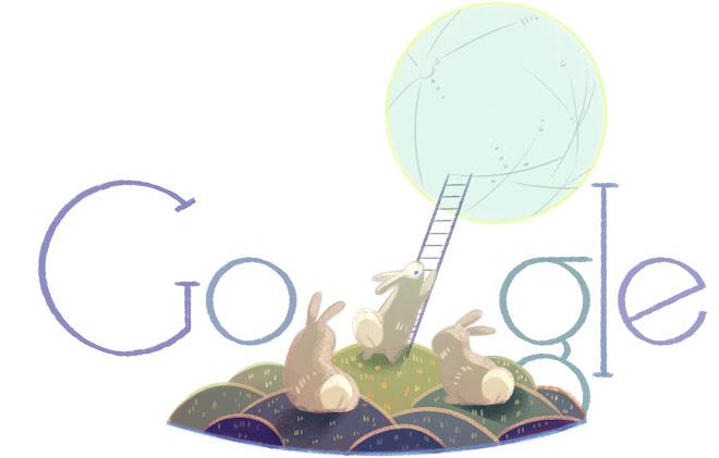 google doodle - mid-autumn festival 2014
