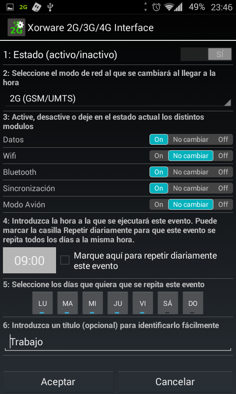 Xorware 2G/3G/4G Interface PRO- screenshot