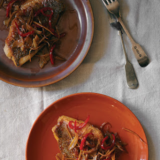 Chuan-Chuan (Malaysian Pan-Seared Snapper with Garlic and Chiles).
